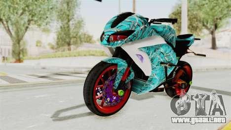 Kawasaki Ninja 250FI Stunter para GTA San Andreas