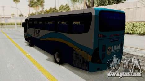 Marcopolo UUM Bus para GTA San Andreas left