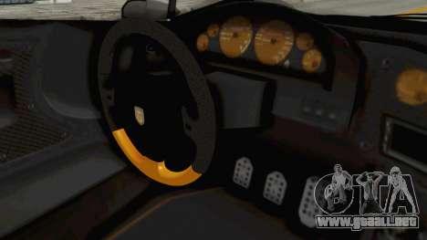 GTA 5 Pegassi Zentorno PJ para visión interna GTA San Andreas