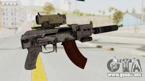 Combat SMG para GTA San Andreas tercera pantalla