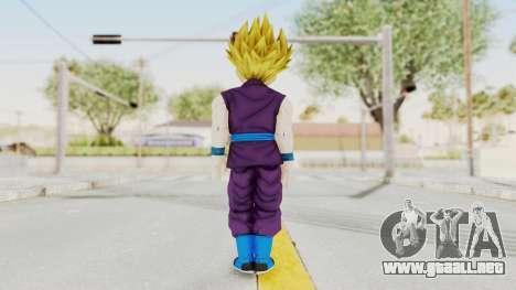 Dragon Ball Xenoverse Gohan Teen DBS SSJ2 v1 para GTA San Andreas tercera pantalla