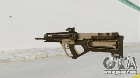 Integrated Munitions Rifle Desert para GTA San Andreas segunda pantalla
