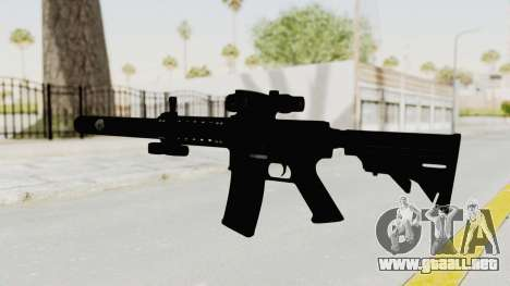 Colt M4 CQB S.W.A.T. para GTA San Andreas segunda pantalla