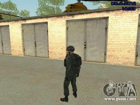 Modern Russian Soldiers pack para GTA San Andreas séptima pantalla