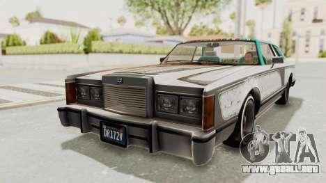 GTA 5 Dundreary Virgo Classic Custom v1 para la vista superior GTA San Andreas