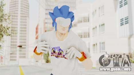 Sonic Man para GTA San Andreas