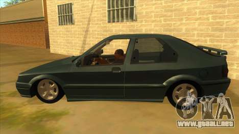 Renault 19 Coupe para GTA San Andreas left