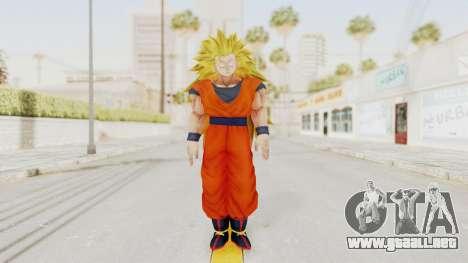 Dragon Ball Xenoverse Goku SSJ3 para GTA San Andreas segunda pantalla