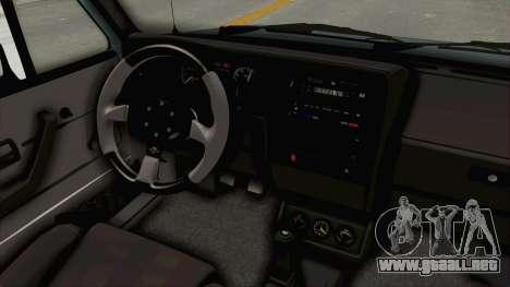 Volkswagen Golf 1 Cabrio VR6 para visión interna GTA San Andreas