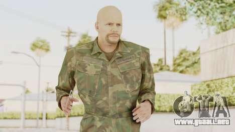 MGSV Ground Zeroes US Soldier No Gear v2 para GTA San Andreas