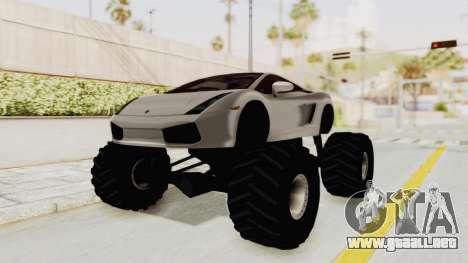 Lamborghini Gallardo 2005 Monster Truck para GTA San Andreas