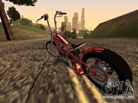 Chopper Old School para la visión correcta GTA San Andreas