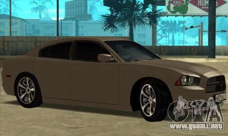 Dodge Charger para la visión correcta GTA San Andreas