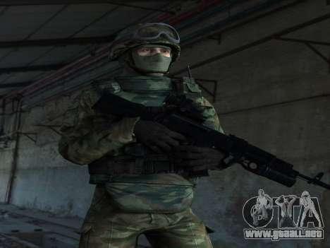 Modern Russian Soldiers pack para GTA San Andreas segunda pantalla