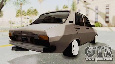 Renault 12 para GTA San Andreas vista posterior izquierda