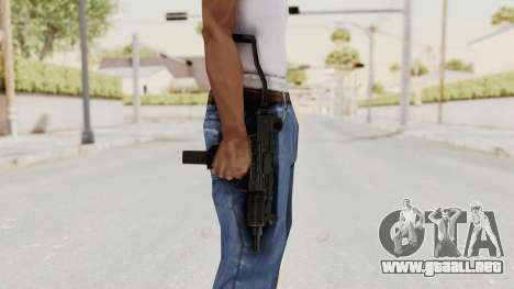 IMI Mini Uzi v1 para GTA San Andreas tercera pantalla
