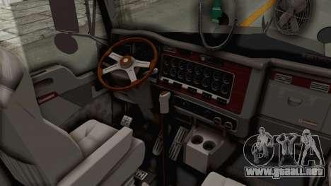 Kenworth T800 Centenario para visión interna GTA San Andreas