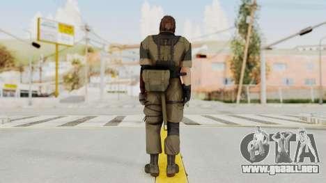 MGSV The Phantom Pain Venom Snake No Eyepatch v1 para GTA San Andreas tercera pantalla