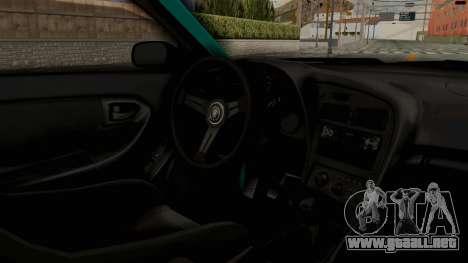 Toyota Celica GT Drift Monster Energy Falken para visión interna GTA San Andreas