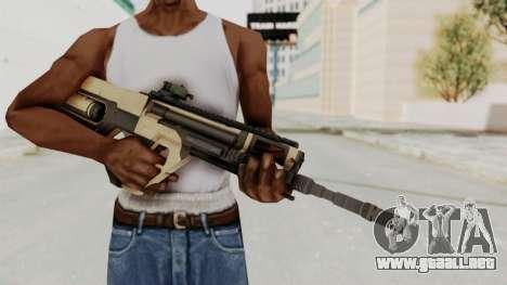 Integrated Munitions Rifle Desert para GTA San Andreas tercera pantalla