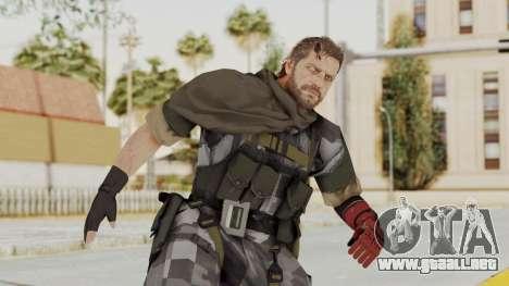 MGSV The Phantom Pain Venom Snake Sc No Patch v7 para GTA San Andreas