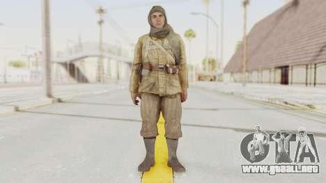 COD BO Nikholai para GTA San Andreas segunda pantalla