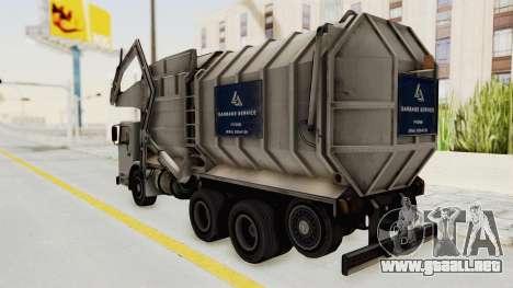 New Trashmaster para la visión correcta GTA San Andreas