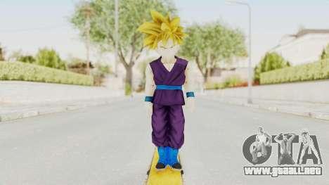 Dragon Ball Xenoverse Gohan Teen DBS SSJ1 v1 para GTA San Andreas segunda pantalla