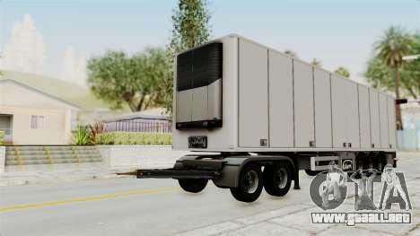 Volvo FM Euro 6 6x4 Tandem v1.0 Trailer para la visión correcta GTA San Andreas