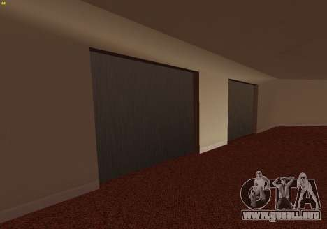 New Interior Radiocenter para GTA San Andreas sucesivamente de pantalla