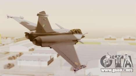 Dassault Rafale Indian Air Force para la visión correcta GTA San Andreas