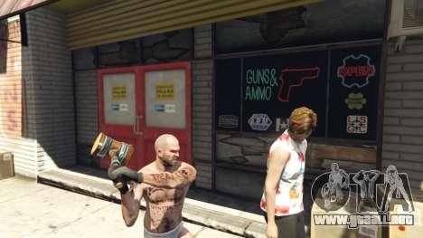 GTA 5 Wooden Fantasy Hammer segunda captura de pantalla