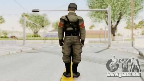 Russian Solider 1 from Freedom Fighters para GTA San Andreas tercera pantalla