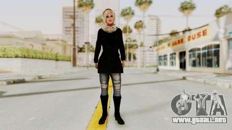 Iranian Girl Skin para GTA San Andreas segunda pantalla