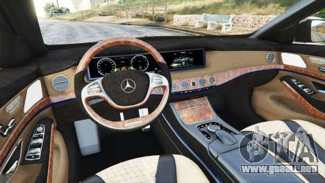 Mercedes-Benz S500 (W222) [yokohama] v2.1 para GTA 5