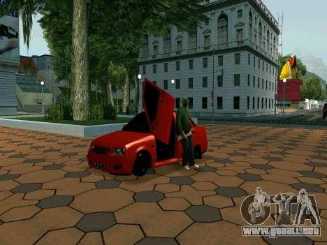 Lada Priora Lambo para GTA San Andreas left
