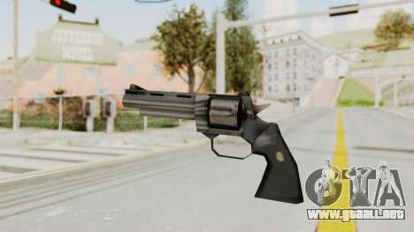 VC Python Pistol para GTA San Andreas segunda pantalla