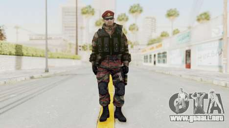 Battery Online Russian Soldier 1 v1 para GTA San Andreas segunda pantalla