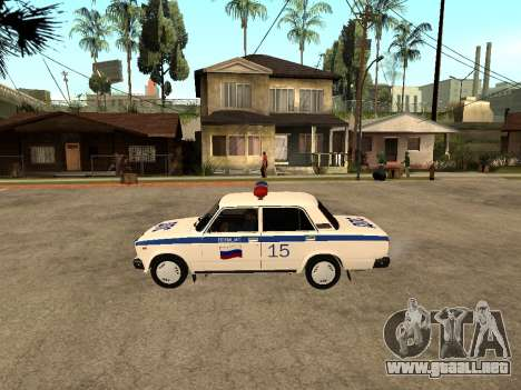 VAZ 2107 DPS para GTA San Andreas left