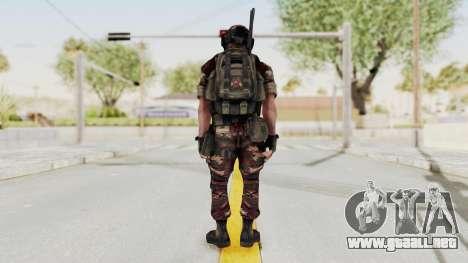 Battery Online Russian Soldier 4 para GTA San Andreas tercera pantalla