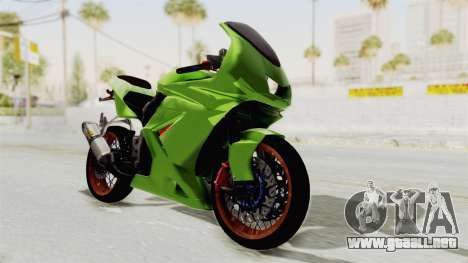 Kawasaki Ninja 250R Asian Style para GTA San Andreas