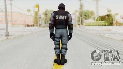 Batman Arkham Origins Swat para GTA San Andreas tercera pantalla