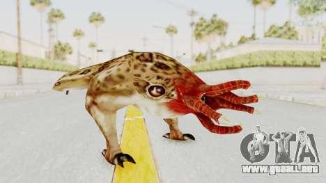 Bullsquid from Half-Life 1 para GTA San Andreas segunda pantalla