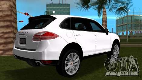 Porsche Cayenne 2012 para GTA Vice City vista lateral izquierdo