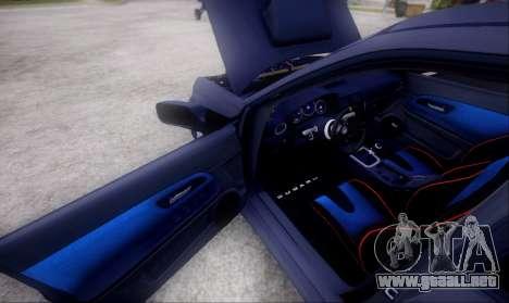 Subaru impreza WRX STi LP400 v2 para visión interna GTA San Andreas
