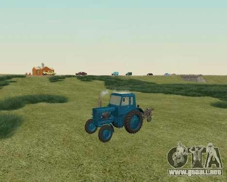 MTZ 80 Bielorrusia para GTA San Andreas left