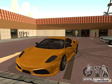 Ferrari F430 Scuderia BULKIN EDITION para GTA San Andreas left
