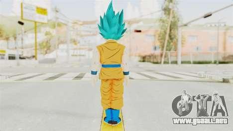 Dragon Ball Xenoverse Gohan Teen DBS SSGSS v2 para GTA San Andreas tercera pantalla