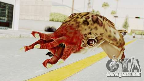 Bullsquid from Half-Life 1 para GTA San Andreas