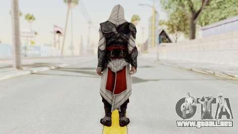 AC Brotherhood - Ezio Auditore Seusenhofer Armor para GTA San Andreas tercera pantalla